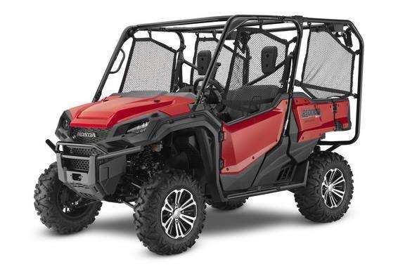 2016 Honda PIONEER 1000-5 DLX