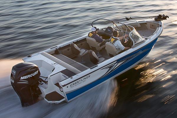2017 Crestliner 1850 SportFish SST