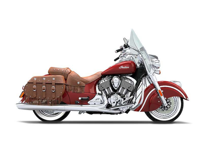2016 Indian Chief Vintage Indian Red