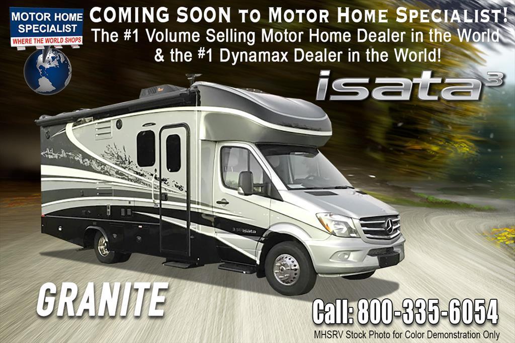 2018 Dynamax Corp Isata 3 Series 24RWM Sprinter Diesel RV W/Dsl Gen, Sat,
