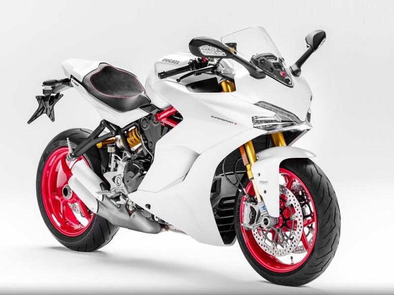 2017 Ducati SuperSport S Star White Silk