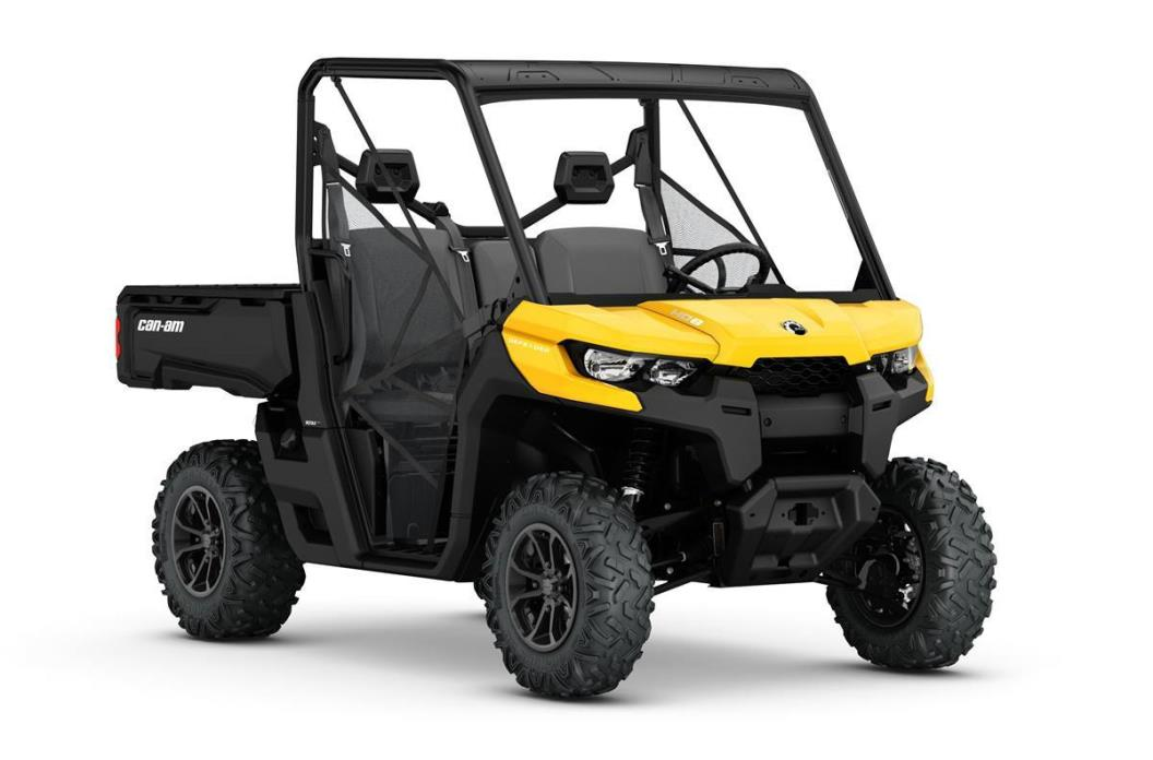2017 Can-Am Defender DPS HD8