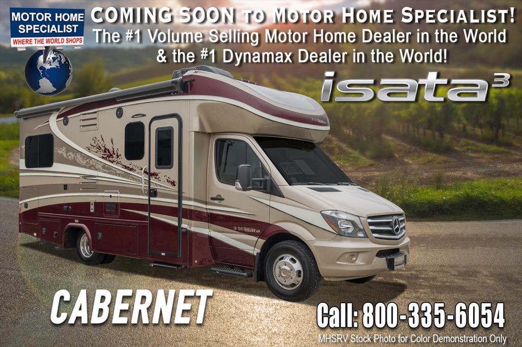 2018 Dynamax Corp Isata 3 Series 24RWM Sprinter Diesel RV W/Sat, Solar, D