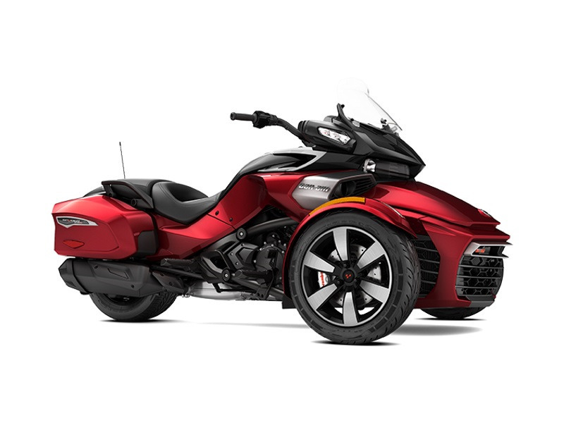 2017 Can-Am Spyder F3-T 6-Speed Semi-Automatic (SE6)