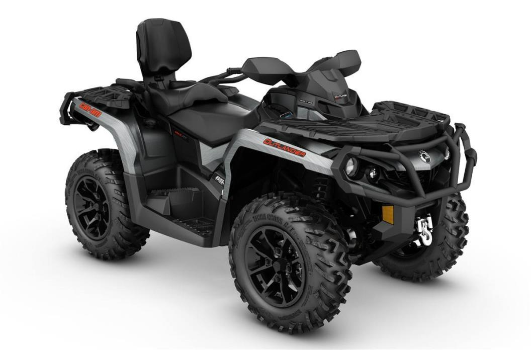 2017 Can-Am Outlander MAX XT 650 - Brushed Alum