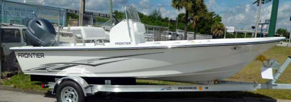 2017 Frontier Boats 180 CC w F115hp Yamaha 4-Stroke EFI Outboard Motor
