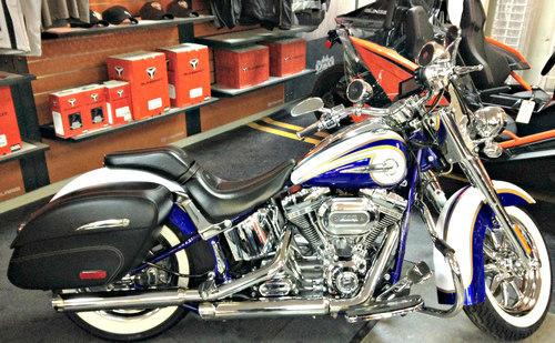 2014 Harley Flstnse Cvo Softail Deluxe