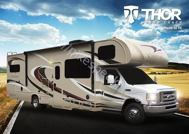 2017 Thor Motor Coach CHATEAU 24F