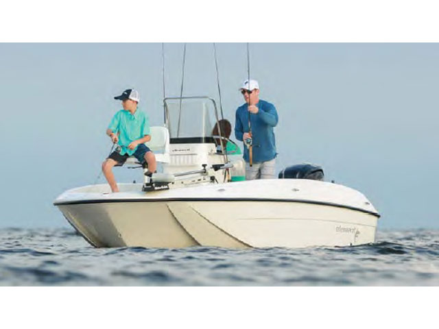 2017 Bayliner Element F18