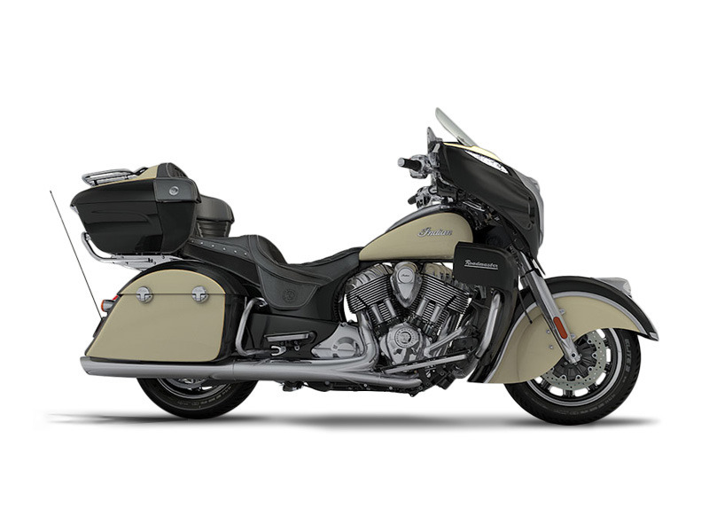 2017 Indian Roadmaster Thunder Black Over Ivory Cream