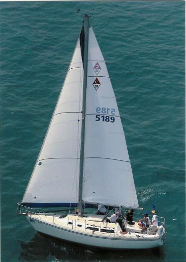 1988 Catalina 30 TR