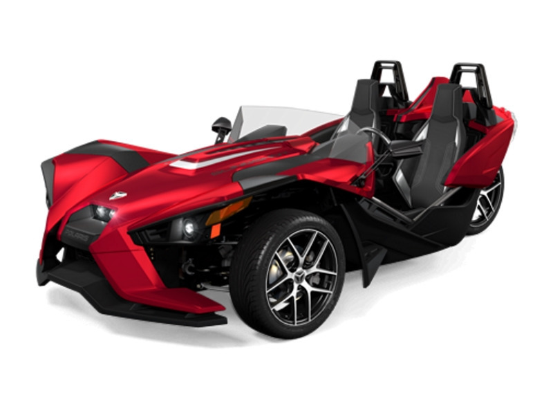 2017 Polaris Slingshot SL Sunset Red