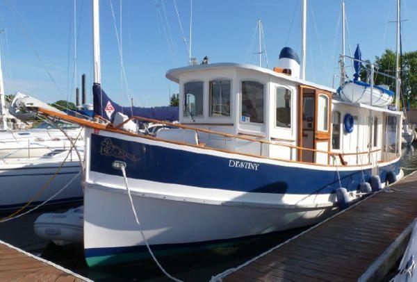 1984 Pilgrim Pilothouse Trawler