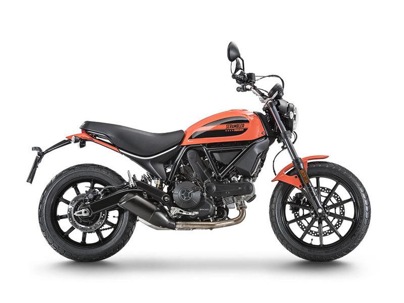 2017 Ducati Scrambler Sixty2 Atomic Tangerine