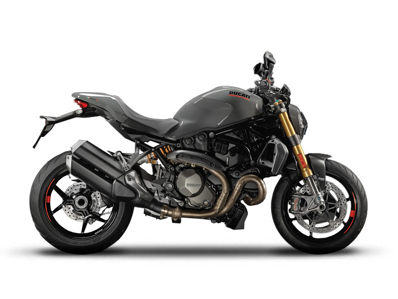 2017 Ducati Monster 1200 S Liquid Concrete Grey