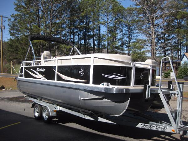 2017 JC PONTOON Spirit 221 TT Sport