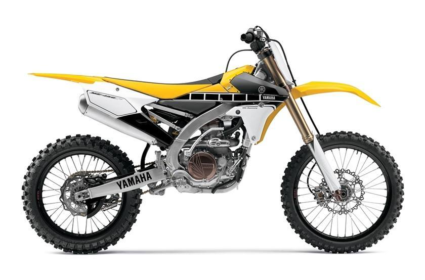 2016 Yamaha YZ450F - 60th Anniversary Yellow