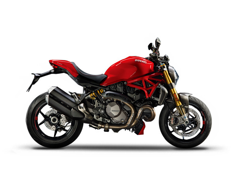 2017 Ducati Monster 1200 S Red