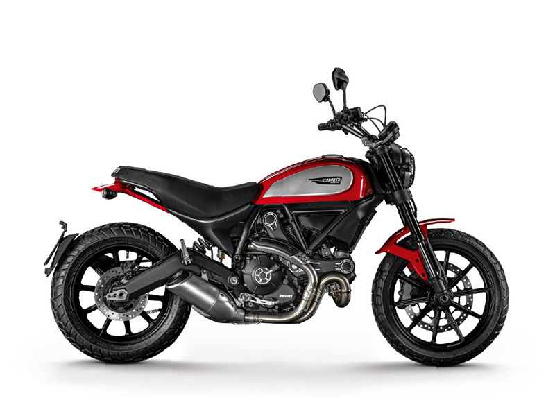 2017 Ducati Scrambler Icon Ducati Red