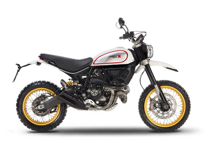 2017 Ducati Scrambler Desert Sled White Mirage