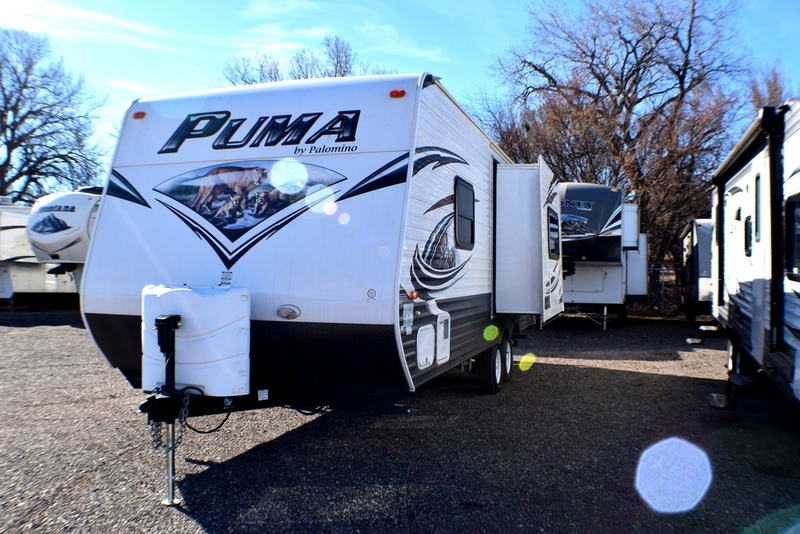 2015 Palomino Puma Travel Trailer 22 RB