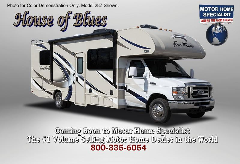 2018 Thor Motor Coach Four Winds 28Z Class C RV for Sale W/Stabilizing & Ext