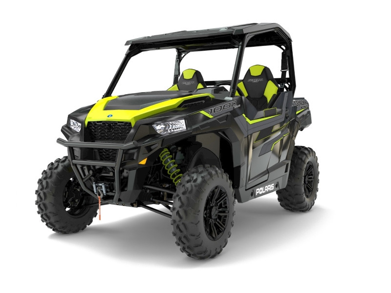2017 Polaris GENERAL 1000 EPS Ride Command Edition Black Pearl