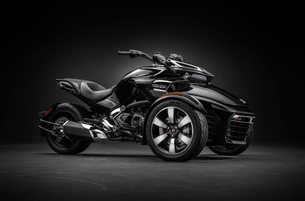2015 Can-Am Spyder F3-S - SM6 - Steel Black Met