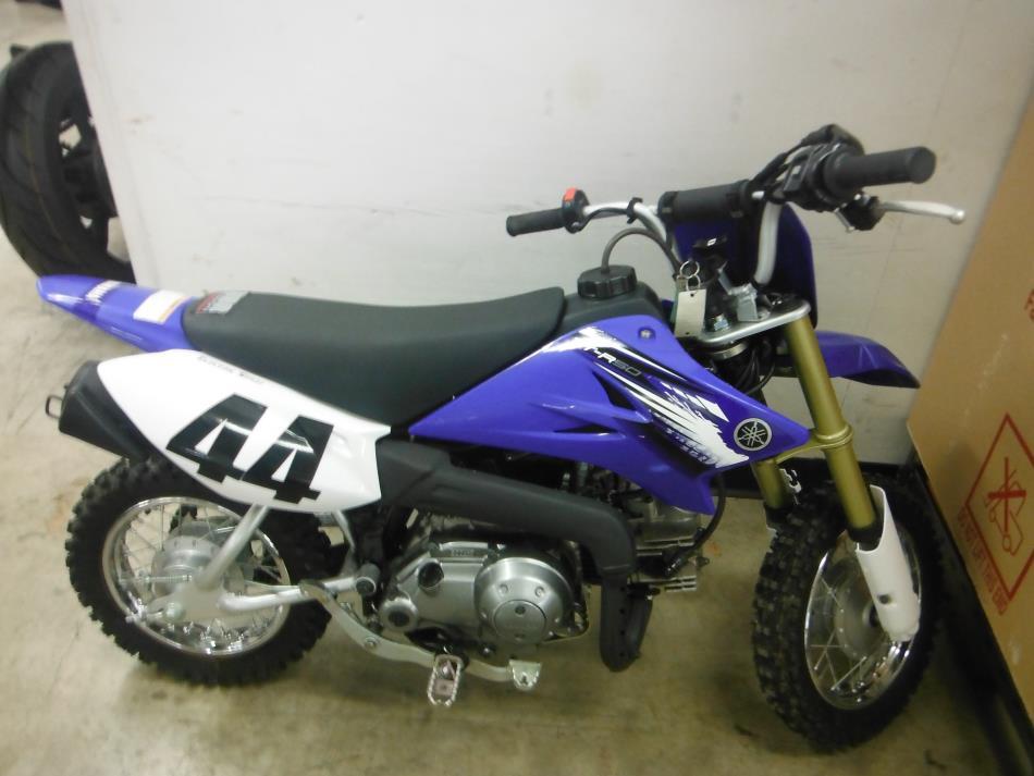 2012 Yamaha TT-R 50E