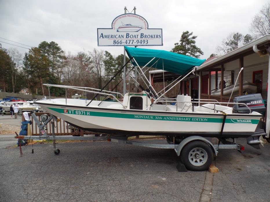 1991 Boston Whaler 17 Montauk