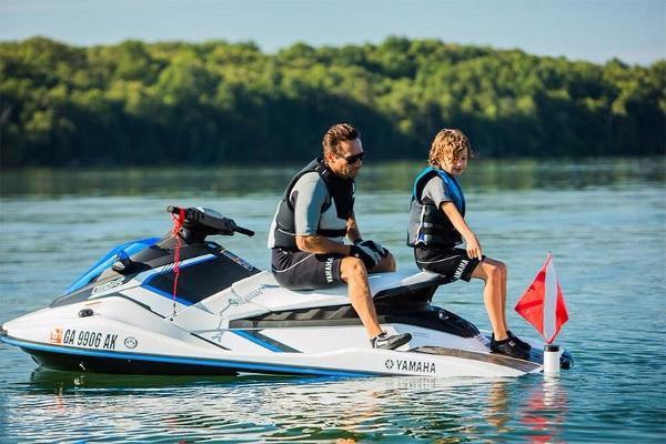 2017 Yamaha EX Sport White & Blue