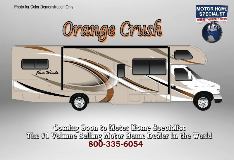 2018 Thor Motor Coach Four Winds 31E Bunk Model RV for Sale at MHSRV W/3 Cams