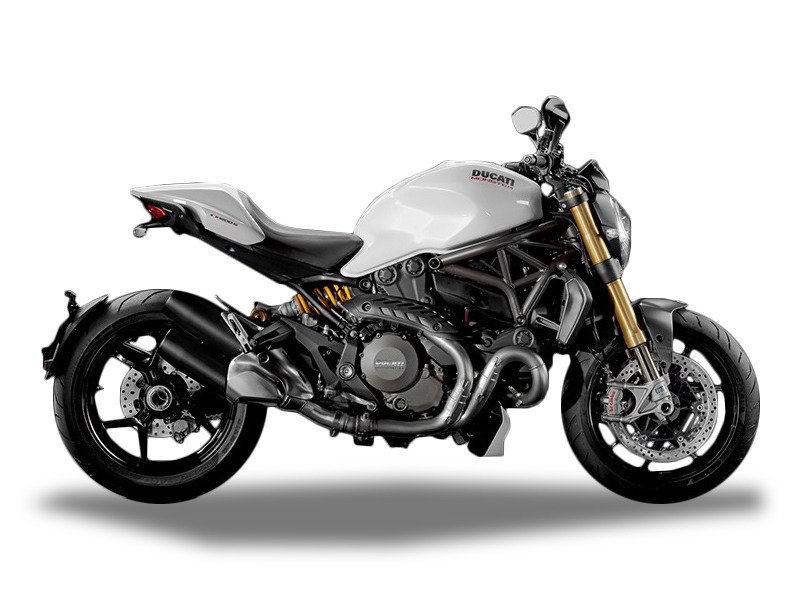 2016 Ducati Monster 1200 S Star White