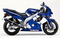 2002 Yamaha YZF-600R