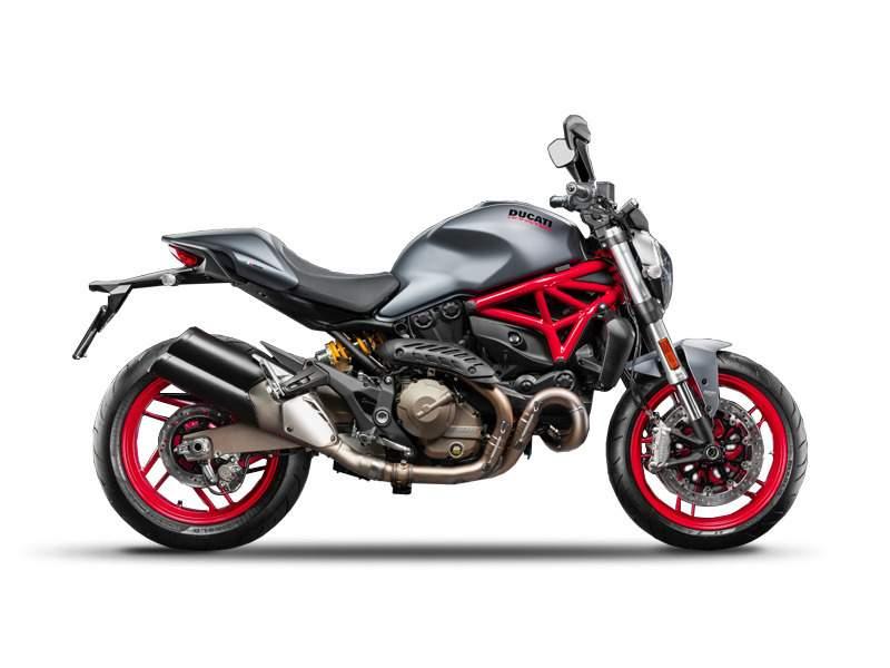 2017 Ducati Monster 821 Dust Grey