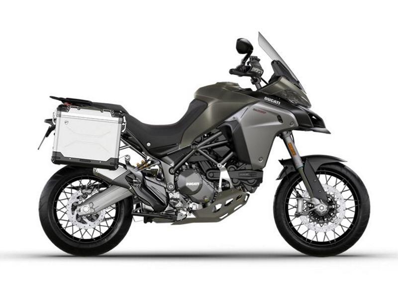 2017 Ducati Multistrada 1200 Enduro Tour Package Phantom Grey
