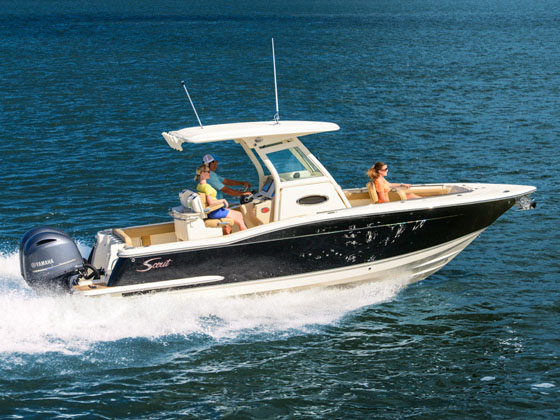 2017 Scout Boat Company 255 LXF