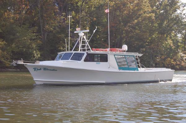 2001 Chesapeake Deadrise, inspected Thomas Built 50' x 16'