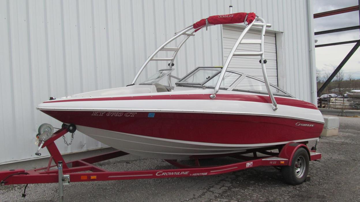2013 Crownline Bowrider 18 SS WT