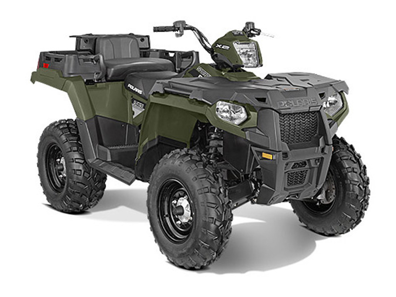 2015 Polaris Sportsman X2 570 EPS Sage Green