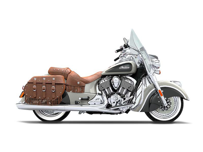 2016 Indian Motorcycle Chief Vintage Star Silver and Thunder Black