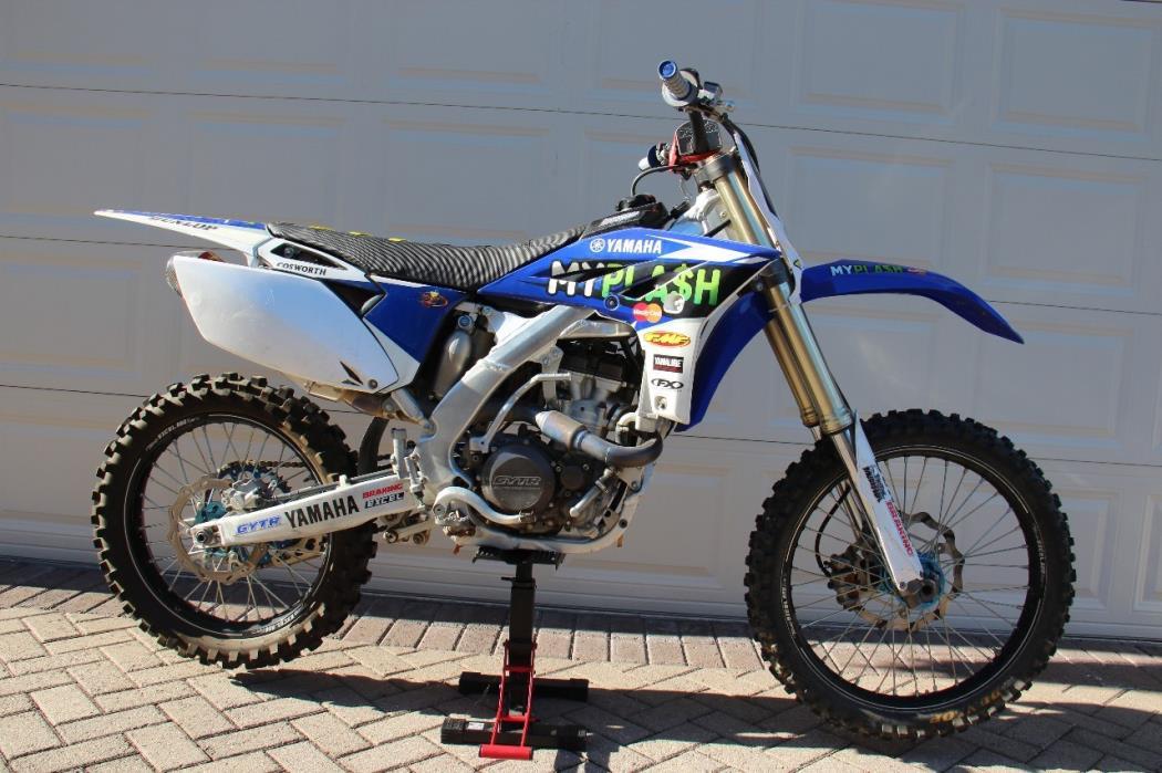 2012 Yamaha YZ 250F