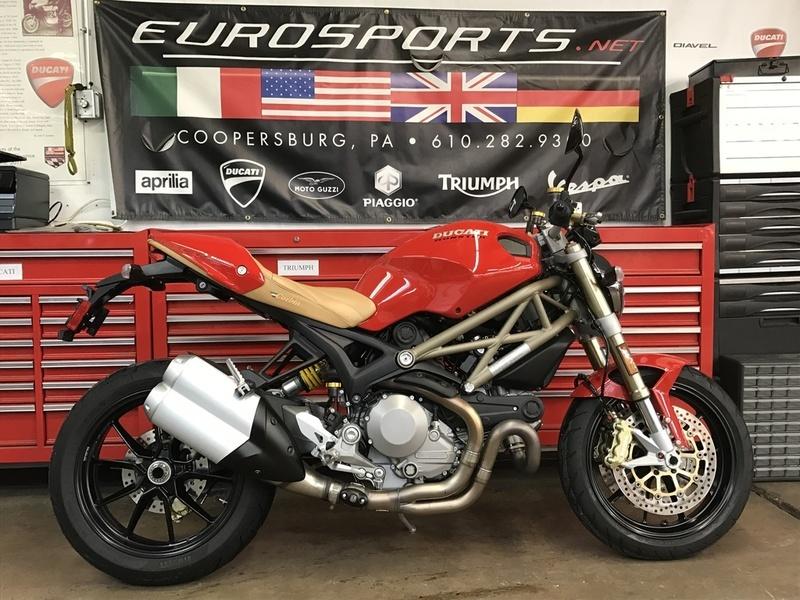 2013 Ducati Monster 1100 EVO 20th Anniversary Edition