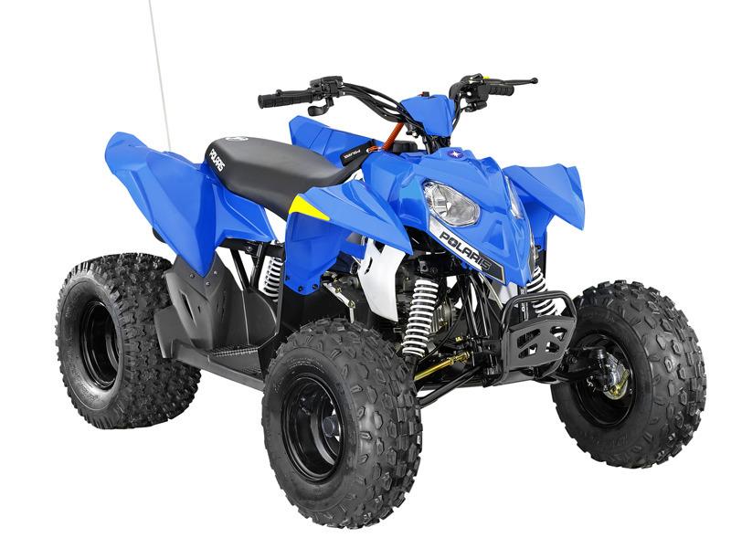 2014 Polaris Outlaw 90 VooDoo Blue