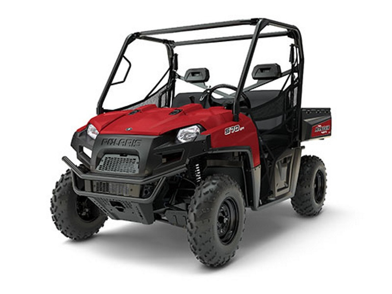 2017 Polaris RANGER 570 Full-Size Solar Red