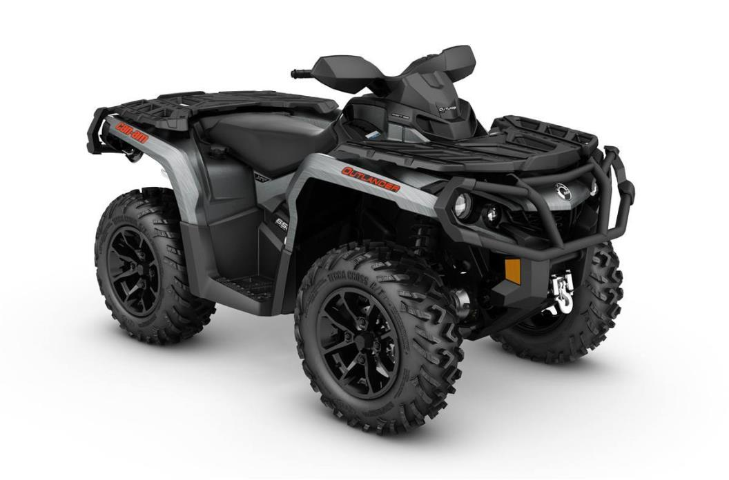 2017 Can-Am OUTLANDER XT 650 - BRUSHED ALUMINUM