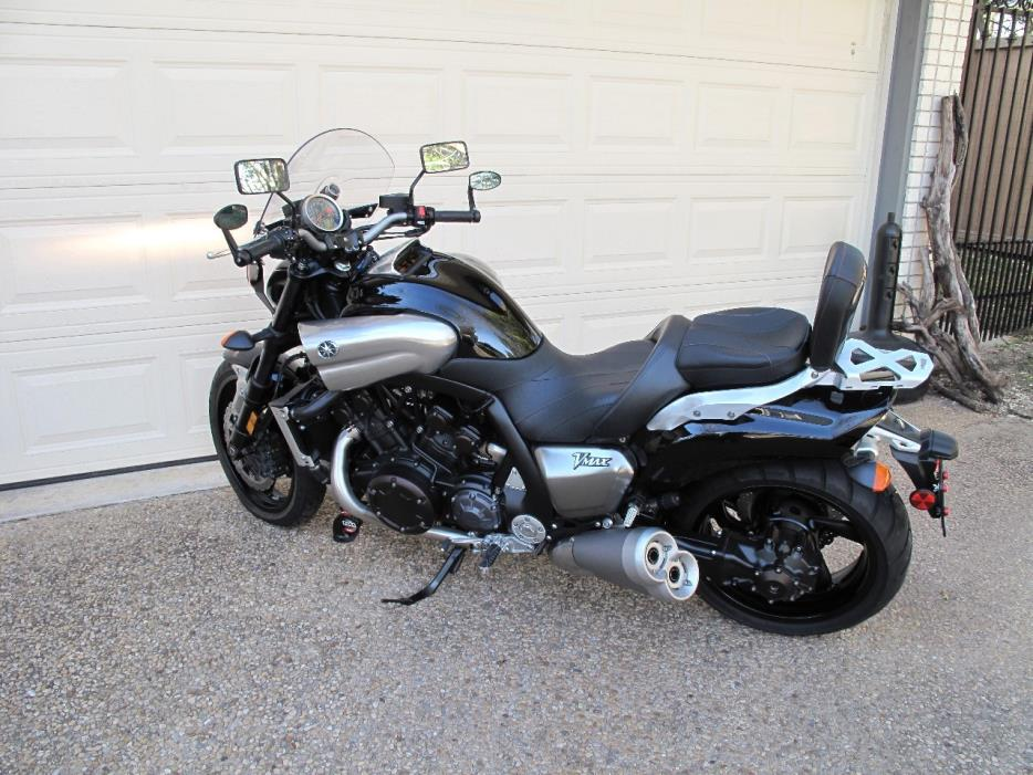 yamaha vmax 1700 motorcycles for sale in texas. Black Bedroom Furniture Sets. Home Design Ideas