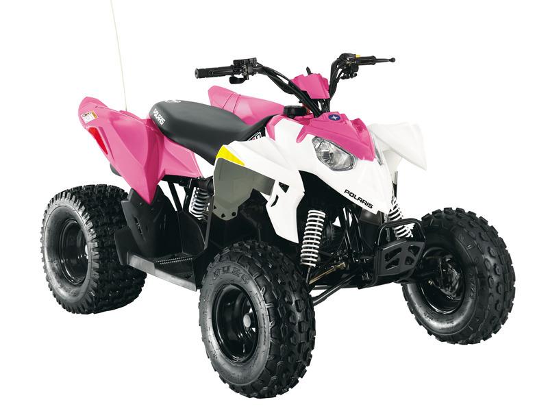 2014 Polaris Outlaw 90 Pink