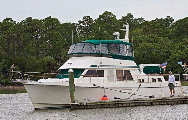 1996 Ocean Alexander 423 Classico Aft Cabin Trawler
