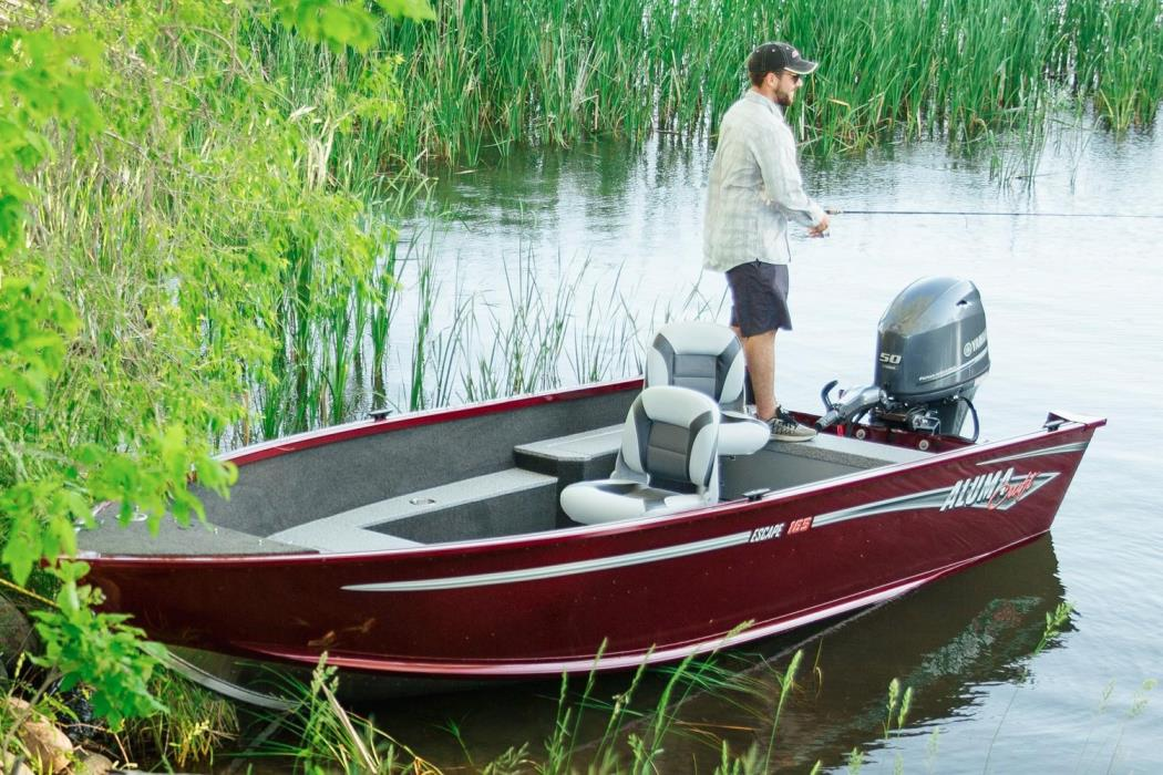 2017 Alumacraft Escape 165 Tiller